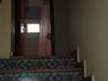 Escaleras y baño